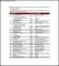 Sample Company Asset List Template
