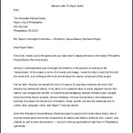 Sample Complaint Letter to Mayor Free Word Format