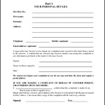 Sample Customer Complaint Form Format