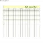 Sample Daily Mood Chart