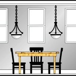Sample Dining Room Elevation Template