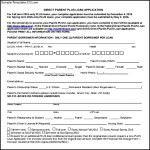 Sample Direct Parent Plus Loan Application Form