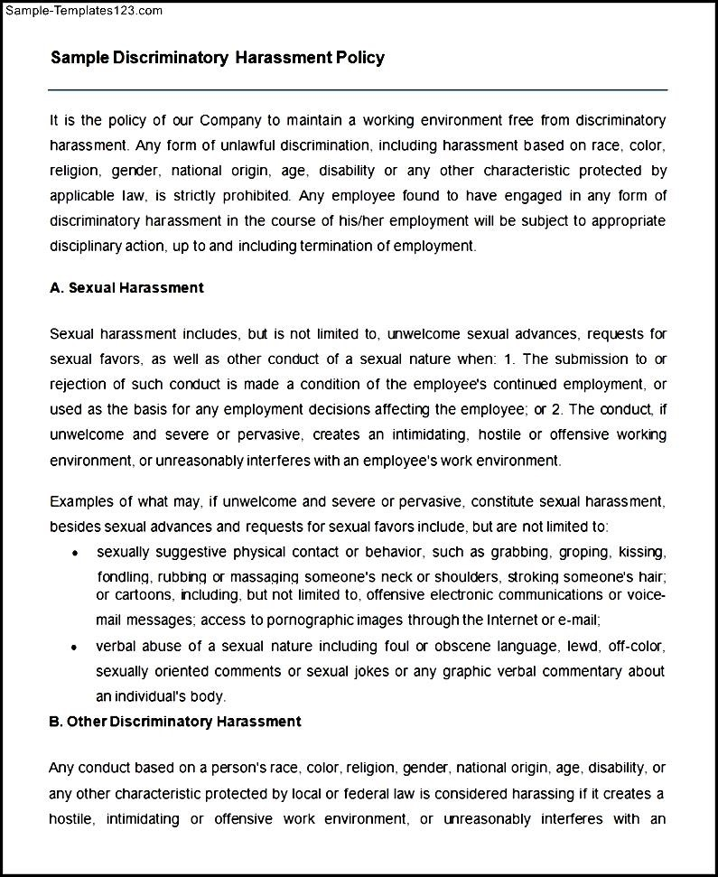bullying and harassment policy template gallery template design ideas outstanding equal opportunities policy template ensign sample