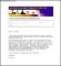Sample Email Cover Letter PDF Template Free Download