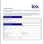 Sample Employee Application Form