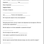 Sample Employee Appraisal Form