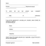 Sample Employee Complaint Form