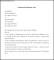 Sample Employment Resignation Letter