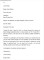 Sample Formal Business Letter