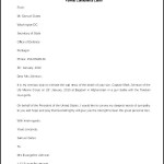Sample Formal Condolence Letter Template Free Download