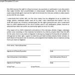 Sample General Media Release Form