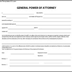 Sample General Power of Attorney Form