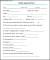 Sample Health Appraisal Form