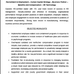 Sample Human Resources Generalist and Leader Resume