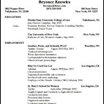 Sample Lawyer Resume Template