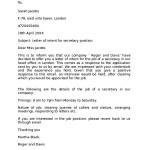Sample Letter Intent Higher Position