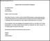 Sample Letter for Job Transfer For Employee Free
