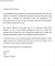 Sample Letter of  Recommendation Letter for Scholarship from Professor