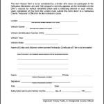 Sample Lien Release Form