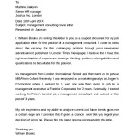 Sample Management Consulting Cover Letter