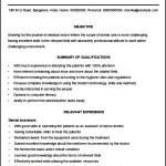 Sample Medical Assistant Resume Template