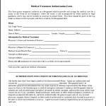 Sample Medical Authorization Form Sample