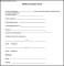 Sample Medical Consent Form Format