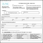 Sample Medical Request Release Form
