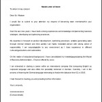 Sample Model Letter of Intent Template Word Format