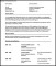 Sample Modern CV Template Free Download