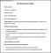 Sample NDT Inspector Resume Template
