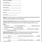 Sample News Reporter Resume CV Template