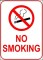 Sample No Smoking Sign Template