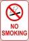Sample No Smoking Sign Template