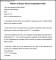 Sample Notice Period Resignation Letter
