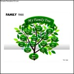 Sample Powerpoint Family Tree Template