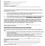 Sample Print Release Form