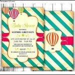 Sample Printable Baby Shower Invitation