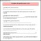 Sample Printable Small Business Form