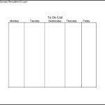 Sample Prioritized Daily Task List Template