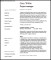 Sample Project Manager CV Template Free