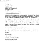 Sample Rejection Letter