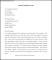 Sample Reporter Resignation Letter