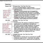 Sample Resume MEMMBA PDF