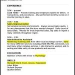Sample Resume Retail Sales Associate PDF
