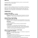 Sample Resume Skills And Abilities Sample