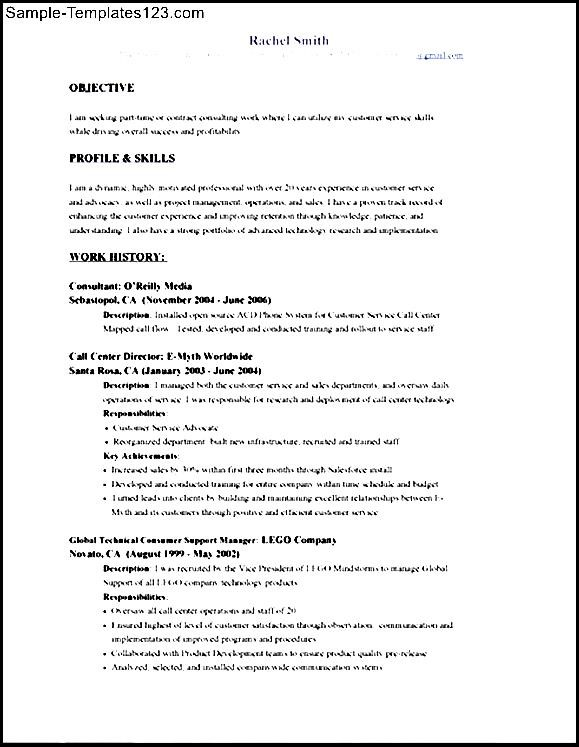 sample skills and abilities in resume