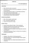Sample Resume for HR Fresher
