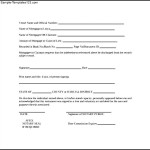 Sample Satisfaction of Mortgage Form