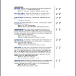 Sample Skiing Equipment List Template